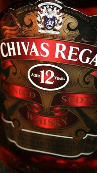 Regal Digital Art - Chivas Regal Whiskey Bottle 88174 300x532 by Mery Moon