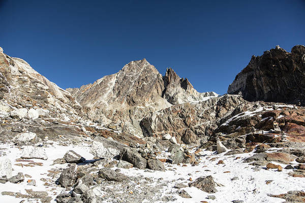 Photograph - Cho La Pass In Nepal by Didier Marti