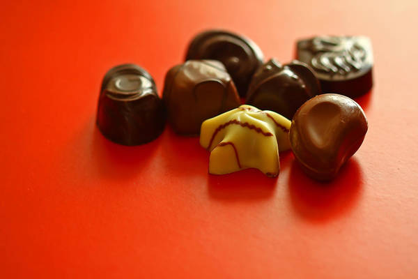 Candy Wall Art - Photograph - Chocolate Delight by Evelina Kremsdorf