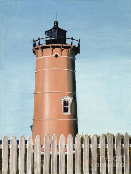 Mary Rogers Painting - Chocolate Lighthouse by Mary Rogers
