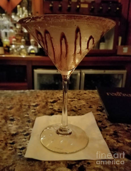 Photograph - Chocolate Martini by Jeff Breiman