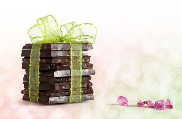 Block Photograph - Chocolate by Nailia Schwarz