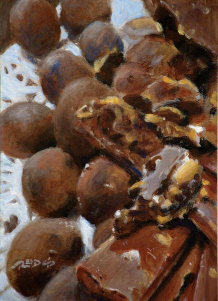 Painting - Chocolate Temptation by Christopher Reid
