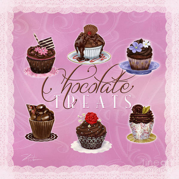 Painting - Chocolate Treats by Shari Warren