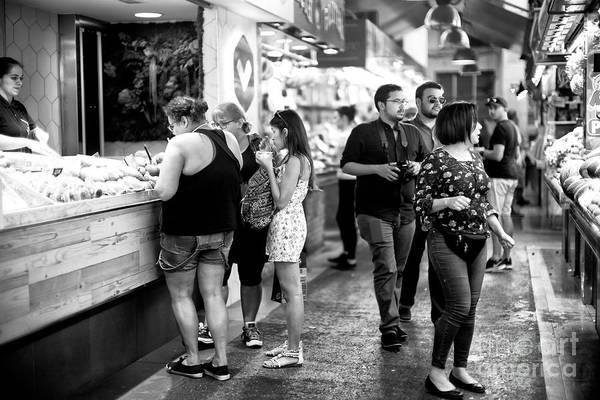 Photograph - Choices At La Boqueria by John Rizzuto