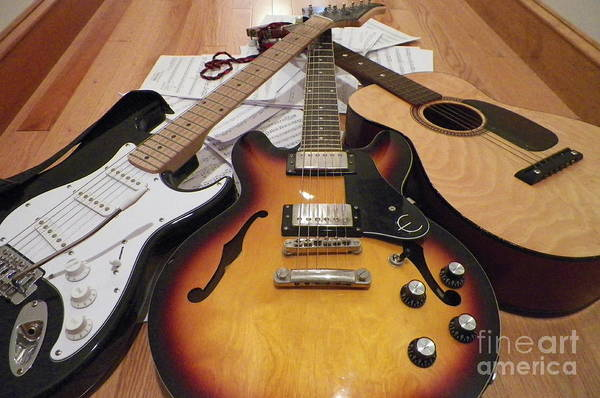 Fret Board Photograph - Choices by Gina Sullivan