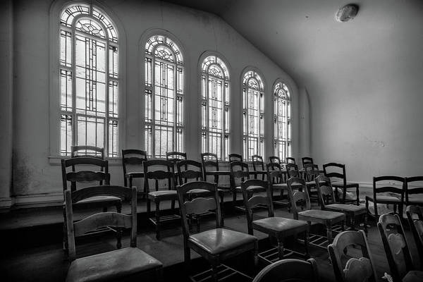 Photograph - Choir Loft by Lindy Grasser