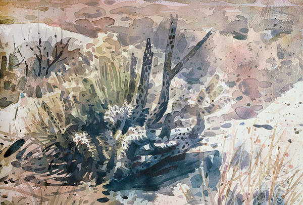 Wall Art - Painting - Cholla by Donald Maier