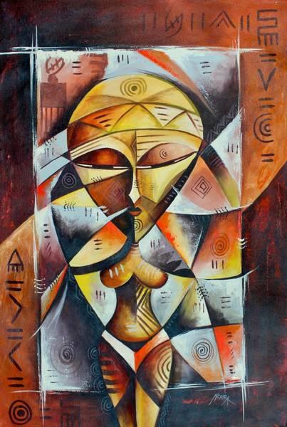 Painting - Chomba by Daniel Akortia