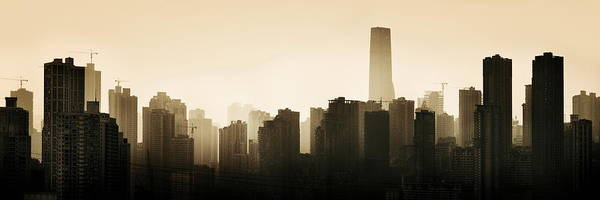 Photograph - Chongqing Urban Architecture by Songquan Deng