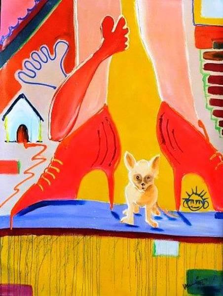 Wall Art - Painting - Chopin by Mounir Lakkis