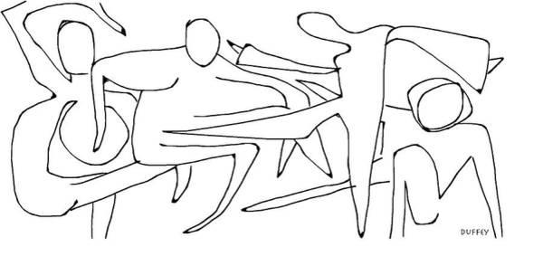 Digital Art - Choreography 1 by Doug Duffey
