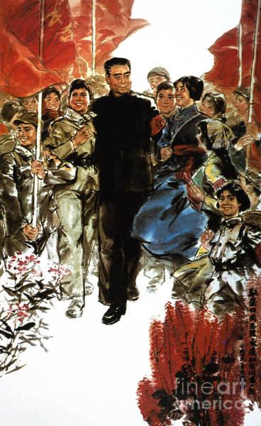 Photograph - Chou En-lai (1898-1976) by Granger