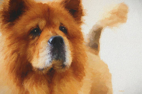 Painting - Chow Chow - Painting by Ericamaxine Price