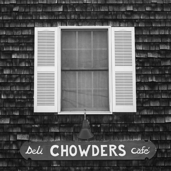 Deli Wall Art - Photograph - Chowders Cafe by Joseph Smith