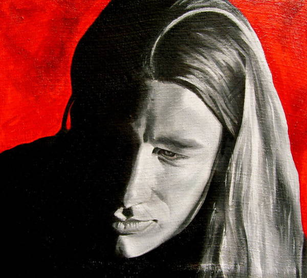 Wall Art - Painting - Chris 2 by Laura Pierre-Louis