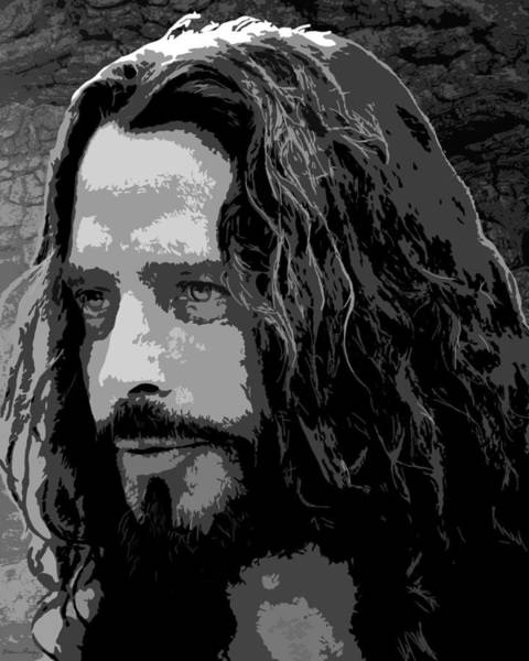 Chris Cornell Wall Art - Digital Art - Chris Cornell by Monica Moody