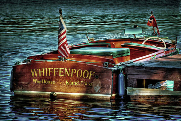 Photograph - Chris Craft Continental - 1958 by David Patterson