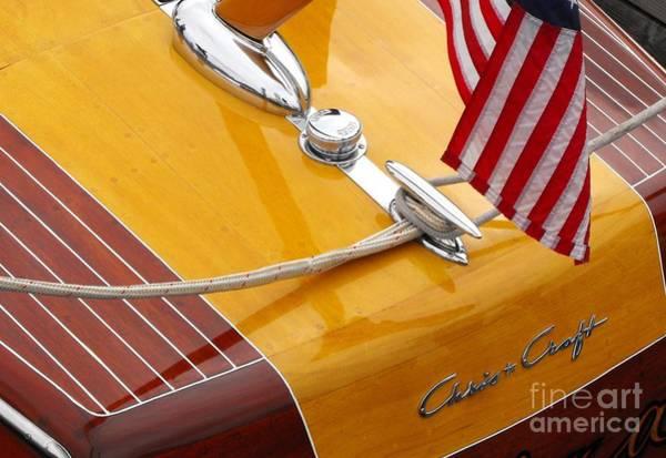 Powerboat Photograph - Chris Craft Custom by Neil Zimmerman