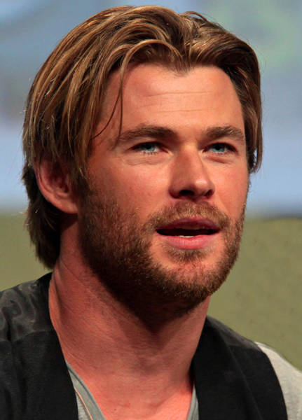 Photograph - Chris Hemsworth by Movie Poster Prints