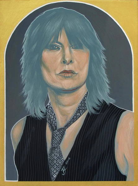 Painting - Chrissie Hynde by Jovana Kolic