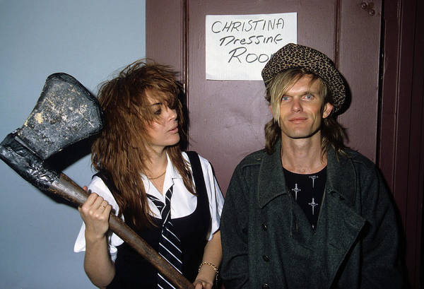 Photograph - Chrissy Amphlett And Mark Mcentee by Rich Fuscia