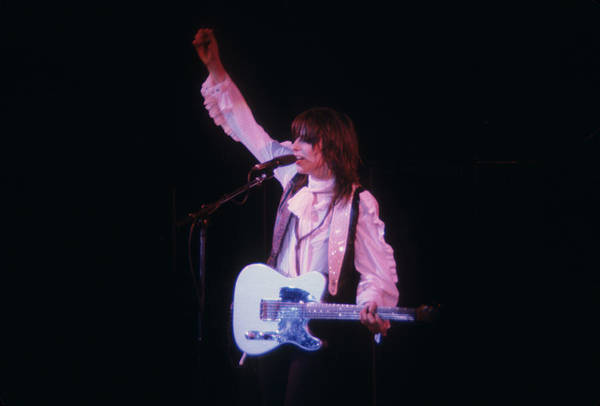 Photograph - Chrissy Hynde Of The Pretenders by Rich Fuscia