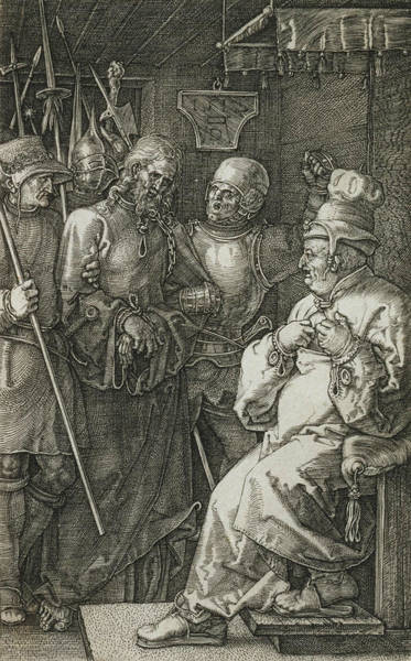 Relief - Christ Before Caiaphas by Albrecht Durer