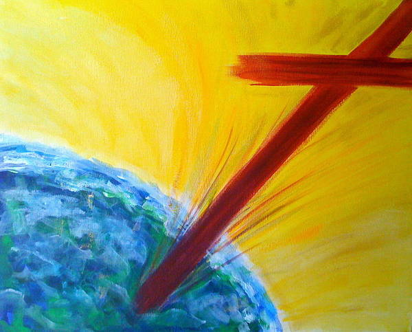 Painting - Christ For The Nations by Deborah Brown Maher