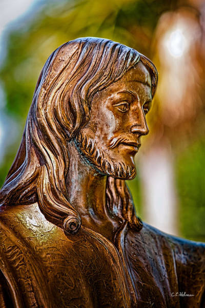 Photograph - Christ In Bronze by Christopher Holmes