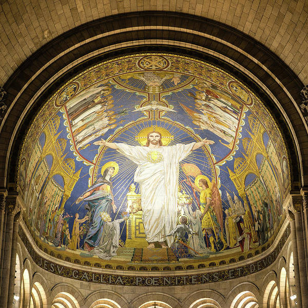 Wall Art - Photograph - Christ In Glory by Stephen Stookey