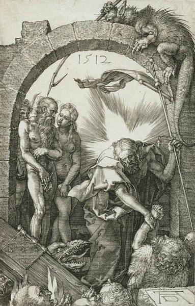 Albrecht Durer Wall Art - Relief - Christ In Limbo by Albrecht Durer