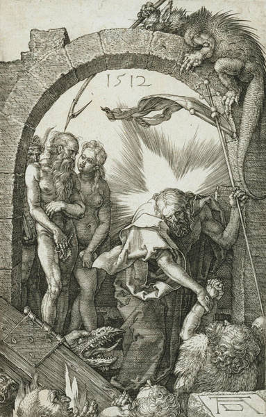 Relief - Christ In Limbo by Albrecht Durer
