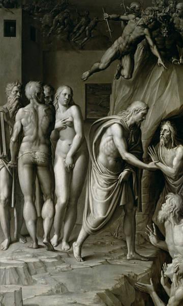Saving Painting - Christ In Limbo by Italian School