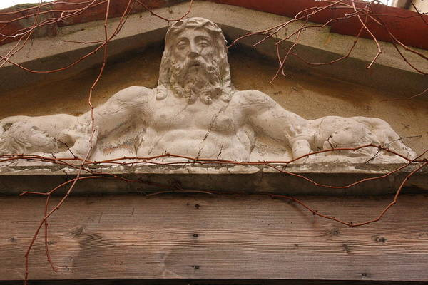 Wall Art - Photograph - Christ On Shrine In Venice by Michael Henderson