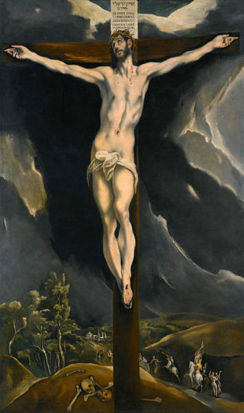 Painting - Christ On The Cross by El Greco