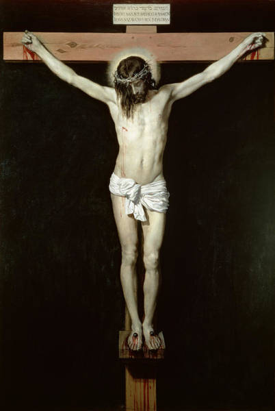 Velazquez Wall Art - Painting - Christ On The Cross by Velazquez