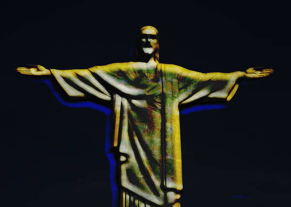 Photograph - Christ The Redeemer - Rio by Ericamaxine Price