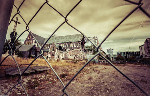 Photograph - Christchurch Cathedral by Chris Cousins