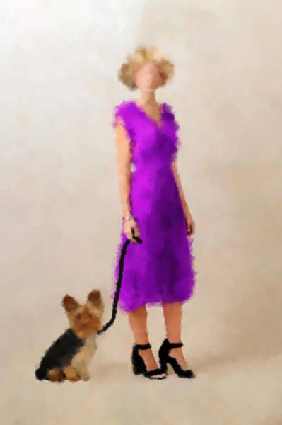 Digital Art - Christina by Nancy Levan