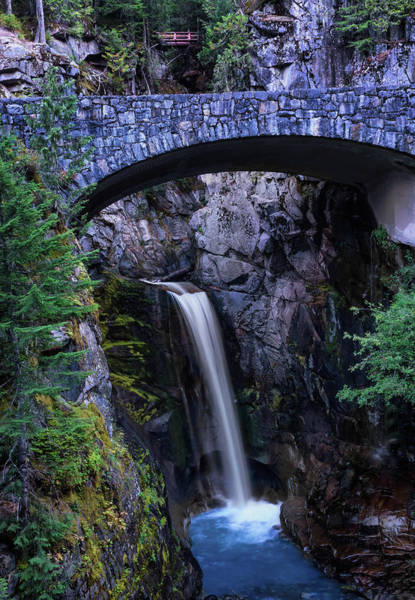 Photograph - Christine Falls by Harold Coleman