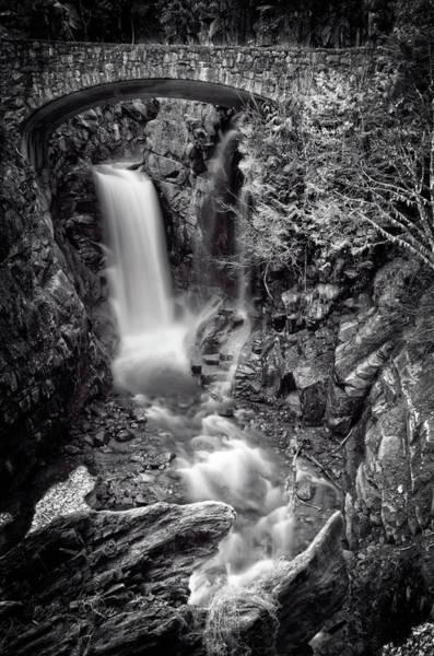 Christine Falls Photograph - Christine Falls, Mt Rainier National Park by Margaret Goodwin