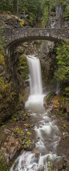 Wall Art - Photograph - Christine Falls Mt Rainier Washington by Steve Gadomski