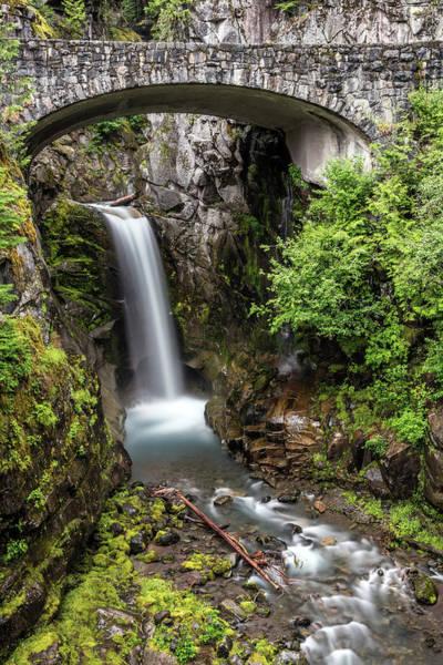 Photograph - Christine Falls Of Mount Rainier by Pierre Leclerc Photography