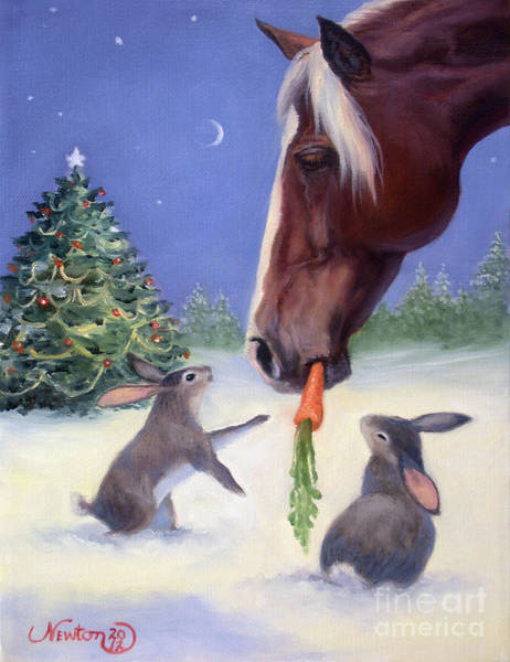 Jeanne Newton Schoborg Wall Art - Painting - Christmas 2012 #2 by Jeanne Newton Schoborg