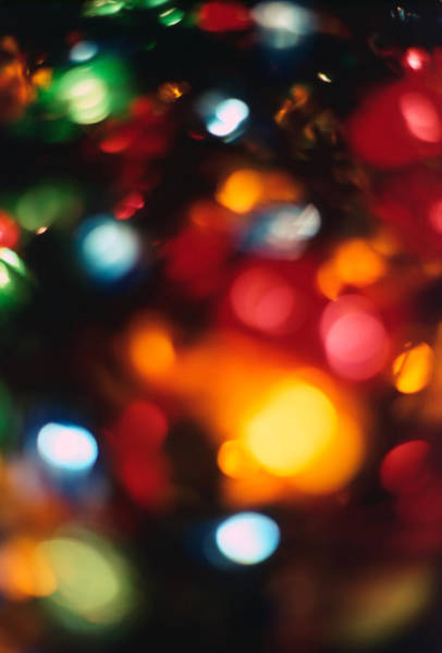 Christmas Season Wall Art - Photograph - Christmas Abstract 2 by Steve Ohlsen