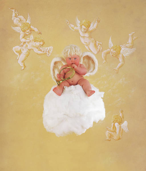 Angel Photograph - Christmas Angel by Anne Geddes