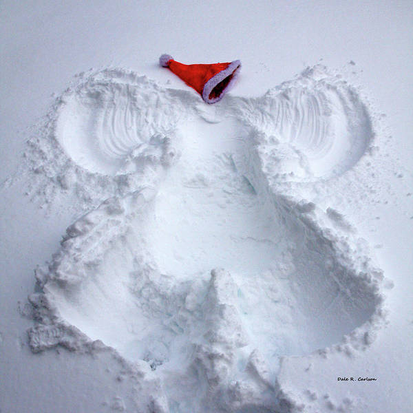 Photograph - Christmas Angel by Dale R Carlson