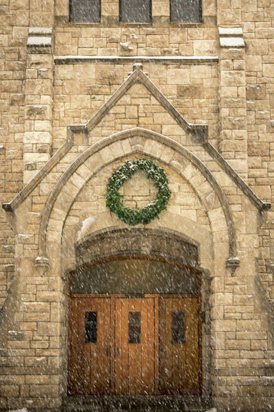 Photograph - Christmas At Stone Chapel by Allin Sorenson