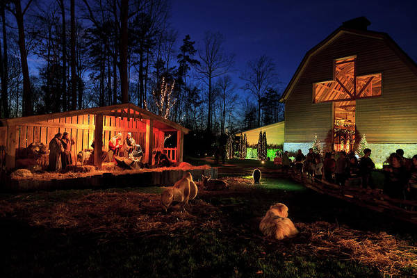 Photograph - Christmas At The Billy Graham Library by Jill Lang
